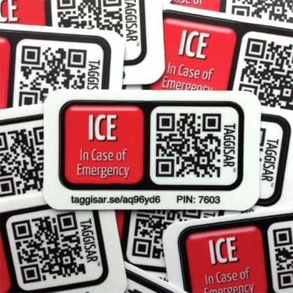 Click here to read more about ICE Stickers 5 Pack