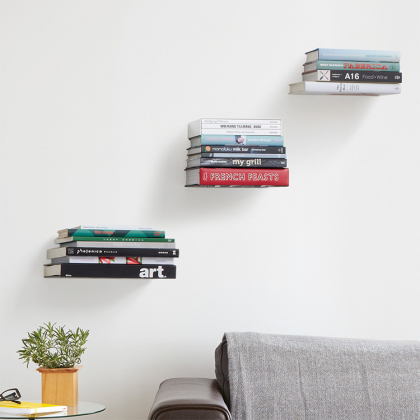 Invisible shelf 3-pack