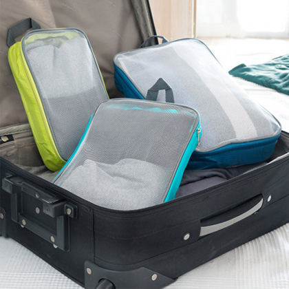 Packing bags for your suitcase, 3-pack