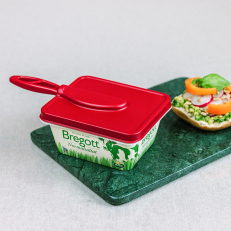 Brelock - A lid with a butter knife
