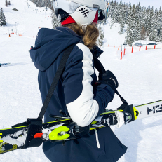 Carrying Strap for Skis