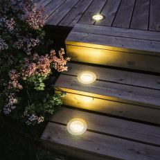 Solar-Powered Balcony Light