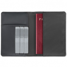 RFID blocking wallet for passport and cards