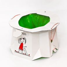TRON Disposable potty for children