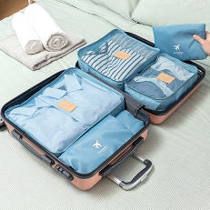 Packing Cubes, six pieces