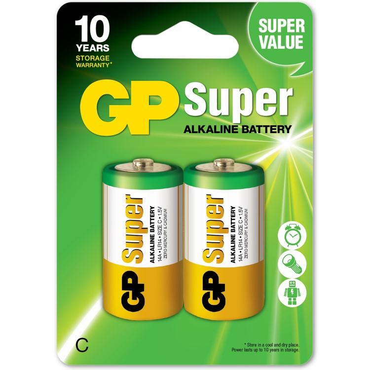 C Or Lr14 Batteries 2 Pack Smartasaker